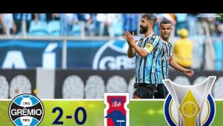 Com gols de Douglas e Juninho Capixaba, Grêmio bate o Paraná; veja os gols