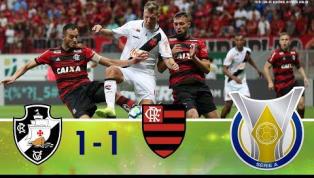 Vasco e Flamengo empatam mais uma vez; veja os melhores momentos