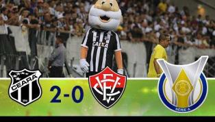 Com gols de Calyson e Samuel Xavier, Ceará bate o Vitória; veja os gols
