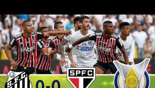Santos e São Paulo não saem do 0 a 0 na Vila Belmiro