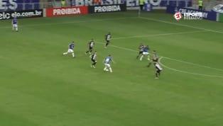 VÍDEO: Thiago Neves dá linda caneta e fica perto de fazer um belo gol no Mineirão
