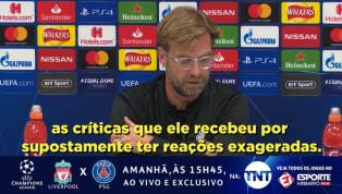 Klopp fala sobre fama de cai cai de Neymar após a Copa do Mundo
