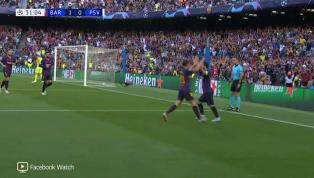 VÍDEO: Messi bate falta com maestria e abre o placar para o Barcelona