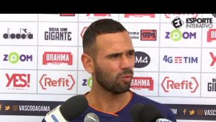 VÍDEO: Leandro Castan solta o verbo ao falar de má fase do Vasco: 'Fico P#@!%'