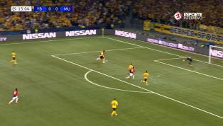 VÍDEO: Com show de Pogba, Manchester United vence Young Boys por 3 a 0