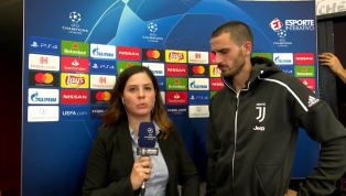 VÍDEO: Bonucci faz pedido à UEFA após expulsão de Cristiano Ronaldo