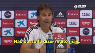 VÍDEO: Lopetegui comenta sobre expulsão de Cristiano Ronaldo na Champions