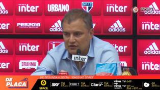 VÍDEO: Aguirre diz que sentimento do torcedor é o mesmo do elenco após empate