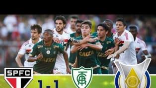 São Paulo sai na frente, mas sofre empate do América-MG