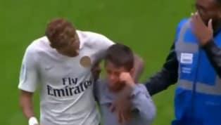 VÍDEO: Criança invade campo, Neymar dá camisa de presente e é ovacionado por torcida