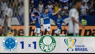 Cruzeiro segura Palmeiras e conquista vaga para final da Copa do Brasil