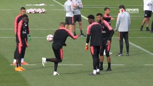 VÍDEO: Mbappé dá show de habilidade com embaixadinhas em treino do PSG