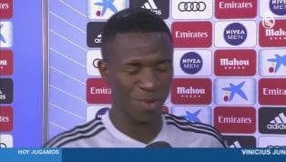 VÍDEO: Vinicius Jr: 'Estou muito feliz com a estreia'