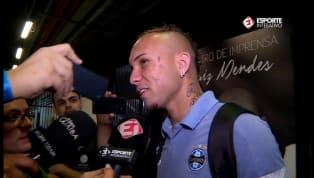 VÍDEO: Everton falou sobre 'prêmio' que vai pedir para Renato após o gol de calcanhar