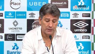 VÍDEO: Renato Portaluppi não poupa elogios a Everton após vitória sobre o Fluminense