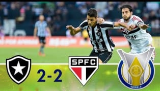 São Paulo tenta, mas Botafogo segura o empate no Rio de Janeiro