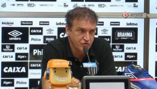 VÍDEO: Com chance de Bambu deixar o Santos por contrato se encerrando, Cuca diz que entende situação