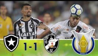 Veja os melhores momentos do empate entre Vasco e Botafogo, no Nilton Santos