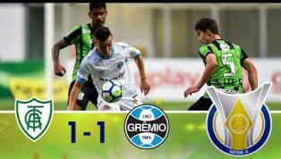 Com reservas, Grêmio visita o América-MG, e jogo termina empatado; veja os gols