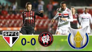 No Morumbi, São Paulo empata sem gols com o Atlético-PR e se afasta da liderança