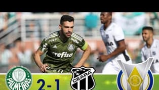 No Pacaembu, Palmeiras vence o Ceará e se mantém isolado na liderança do Brasileirão