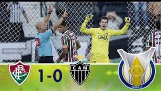 Com gol de Luciano e pênalti perdido por Fábio Santos, Fluminense supera o Atlético-MG