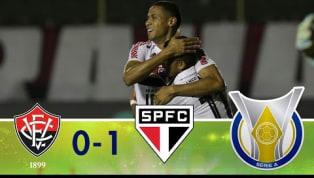 São Paulo encerra jejum e bate o Vitória no Barradão