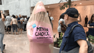 Man Dressed as Penis at Anti-Kavanaugh Protest Shows the Left Is Coping Just Fine, Thank You