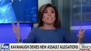 WATCH: Judge Jeanine Suggests Kavanaugh Accusers Might Have Been Hypnotized