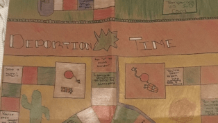 California Middle School Students Create 'Deportation Time' Board Game in Class