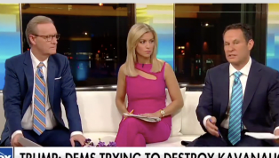 'Fox & Friends' Host Pans Trump for Mocking Kavanaugh's Accuser: 'He Chose to Blow It'