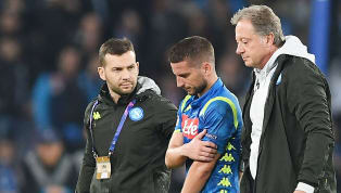 Dries Mertens Set to Be Available for Genoa Clash as Napoli Play Down Shoulder Injury Fears