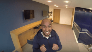 VIDEO: Fabian Delph Plays April Fools Day Prank on City TV Presenter