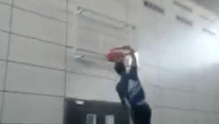VIDEO: Soccer Star Sergio Ramos Challenges LeBron James With Slam Dunk