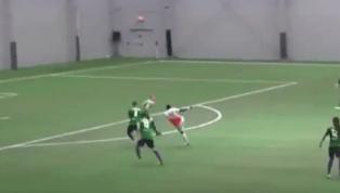 VIDEO: Michigan Bucks Player Scores Incredible Goal
