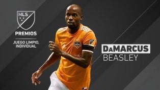 GALARDONADO: DaMarcus Beasley se llevó el premio al juego limpio individual en la MLS