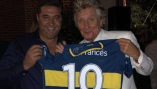 ¡Rod Stewart es de Boca! Los personajes mundiales que declararon su amor por equipos argentinos