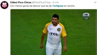 Néstor Ortigoza se lesionó antes de que empiece el partido y estallaron los memes