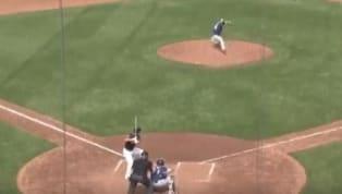 INCREÍBLE: Jugador de Indians conectó doble luego de meter la bola en el hoyo del jardín central