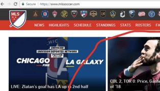 Hilariously Devastating Typo Ends Up Front and Center on Official MLS Website