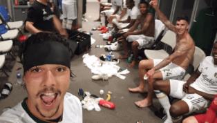 CURIOSO: Jugador de Portland terminó con un corte en la cabeza luego de la celebración de un gol