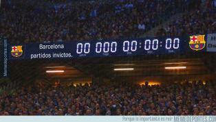 Los mejores 'memes' del fin del invicto del Barça, el final de la Premier y más