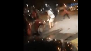 Los violentos enfrentamientos entre la hinchada de Emelec y Santa Fe