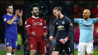 Starting XI Terbaik Premier League Musim 2017/18