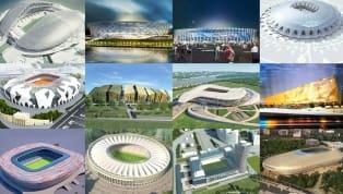 Cận cảnh 12 SVĐ cực khủng của kỳ World Cup 2018