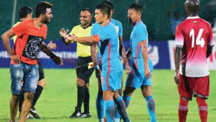 Meet the Indian Fan Who Ran on to the Pitch to Greet His Idol, Sunil Chhetri