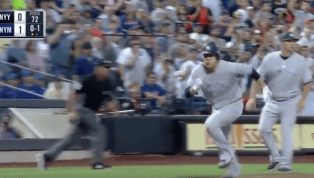 VIDEO: Masahiro Tanaka Tags up to Get Yankees First Run Then Exits Game With Injury