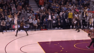 VIDEO: Steph Curry Destroys the Cavs in the First Half of Game 4