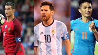 Sunil Chhetri Breaks His Silence Over Lionel Messi and Cristiano Ronaldo Comparisons