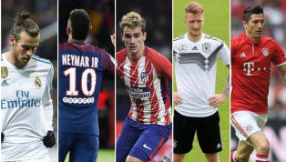 List of Players Linked With All Top Clubs Across Europe
